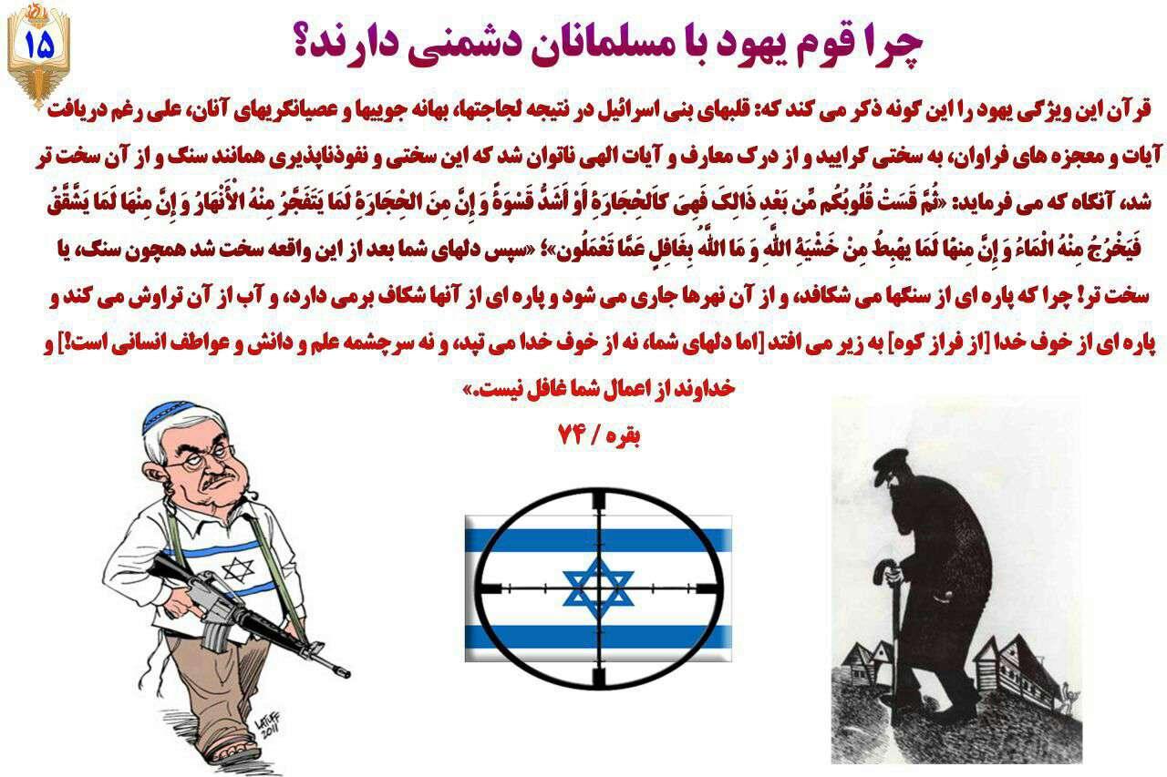 چرا قوم یهود با مسلمانان دشمنی دارند؟؟؟قسمت ۱۵