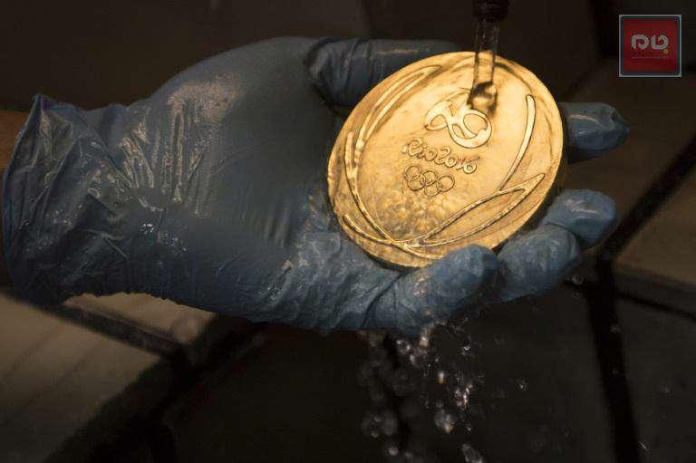 تصویر l مدال طلای بازیهای المپیک ریو 2016