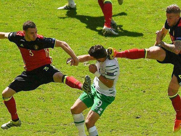 شکار لحظه ها در دیدار بلژیک و جمهوری ایرلند