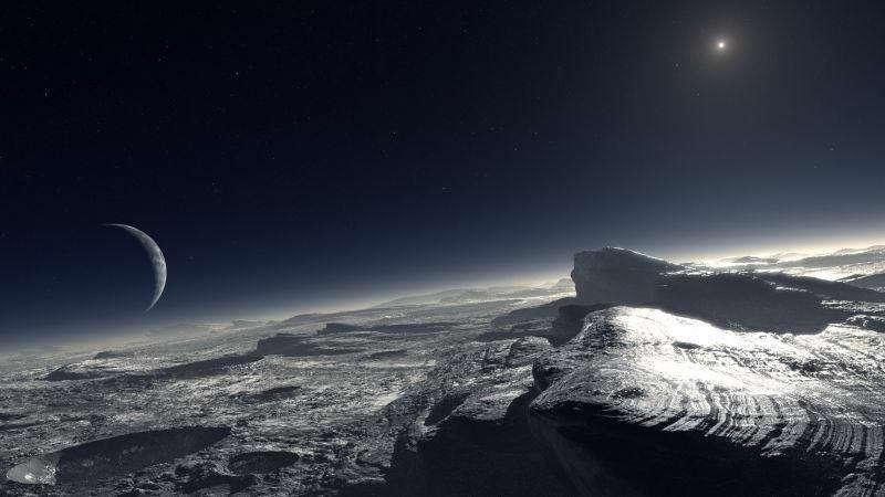 تازهترین یافتههای محققین دانشگاه براون از وجود یک اقیانوس یخزده زیر پوسته پلوتو حکایت دارد