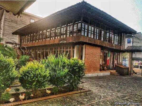 رشت، استادسرا ،خانه میرزا کوچک خان