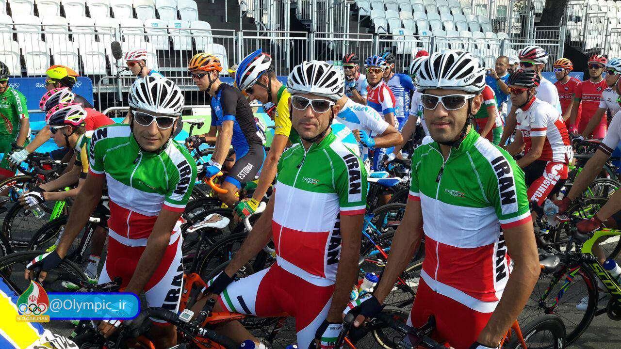 نمایندگان ایران در رقابتهای دوچرخه سواری  جاده المپیک ریو