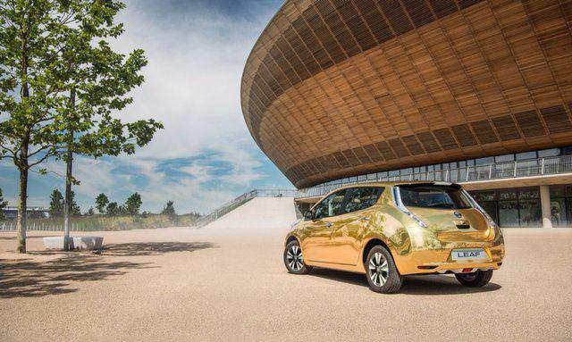 خودروی الکتریکی طلایی نیسان، جایزه قهرمانان المپیک ریو