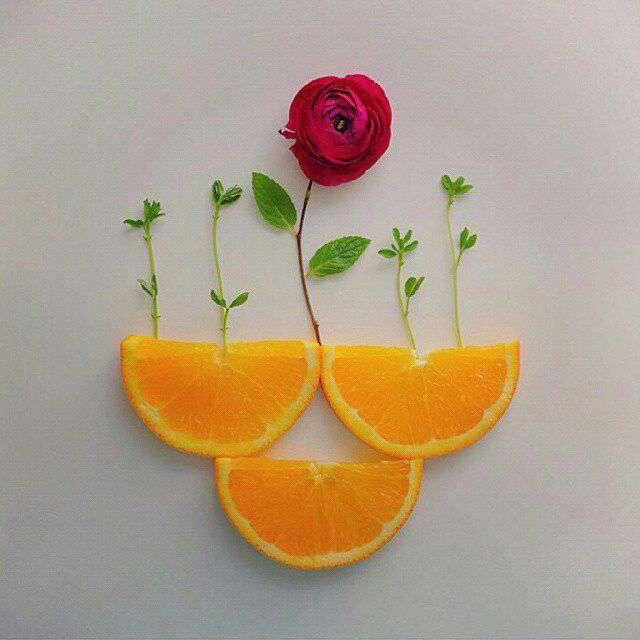 نقاشی با خوراکی