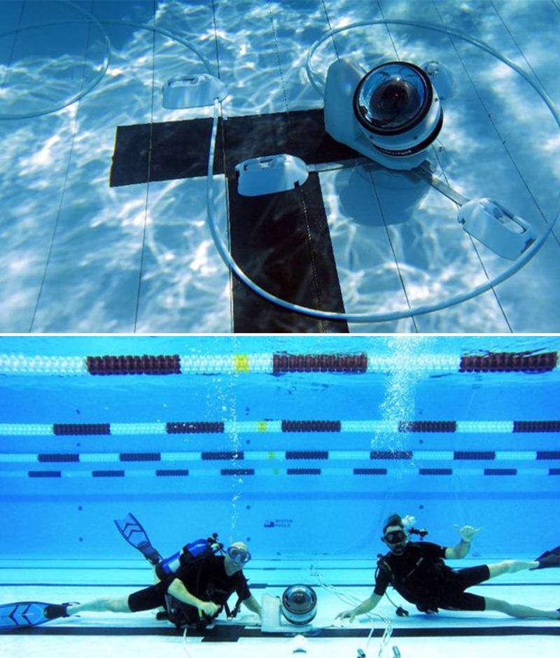استفاده از رباتهای عکاس در المپیک