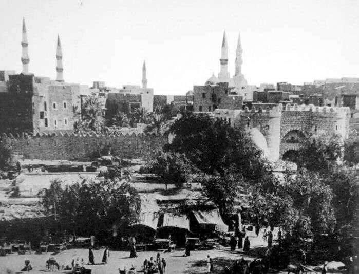 از قدیمی ترین عکسهای مدینه النبی(ص)