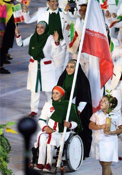 زهرا نعمتی پرچمدار کاروان امام رضا در المپیک 2016 ریو