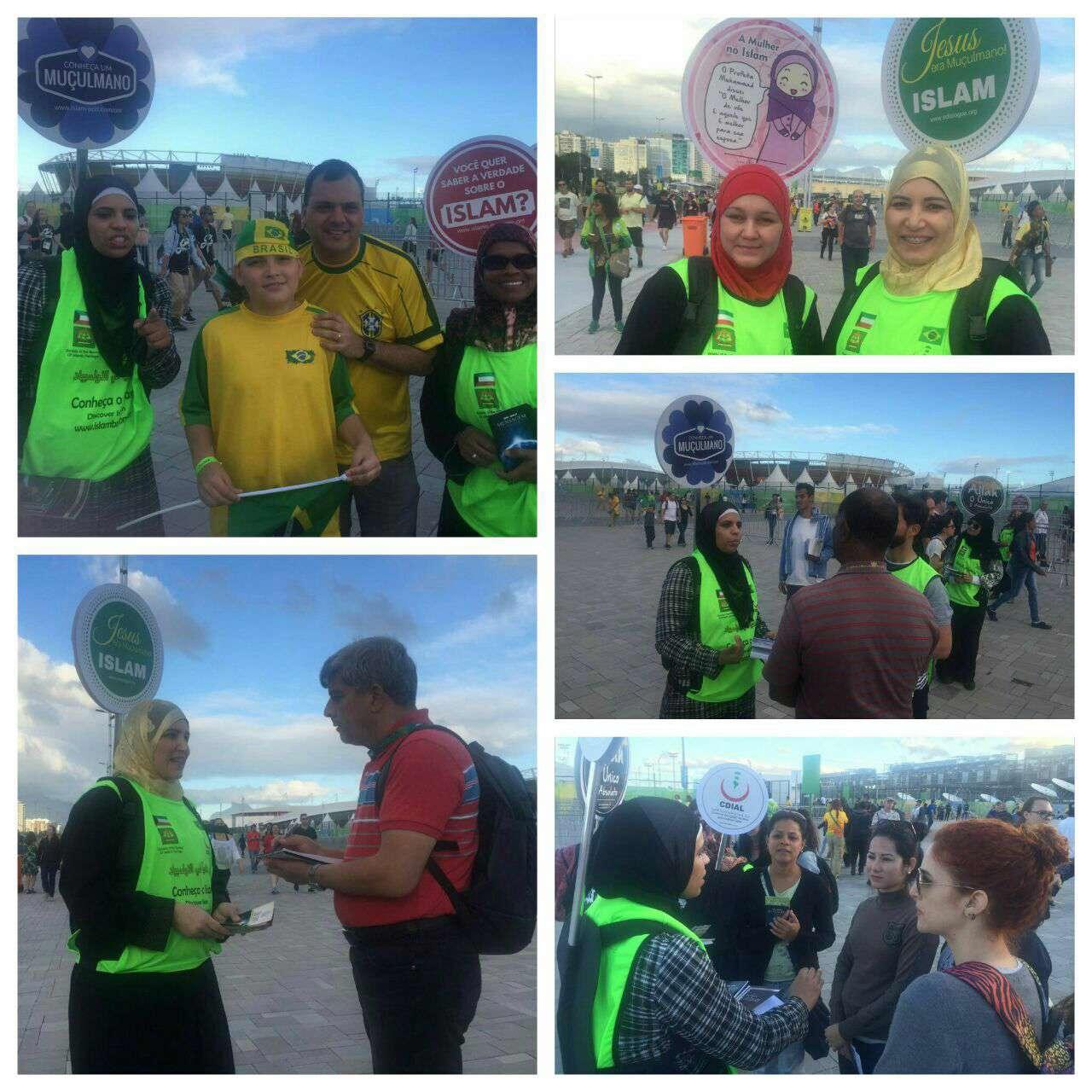 تبلیغ اسلام در المپیک ریو