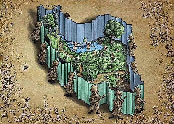 وضعیت فعلی ایران