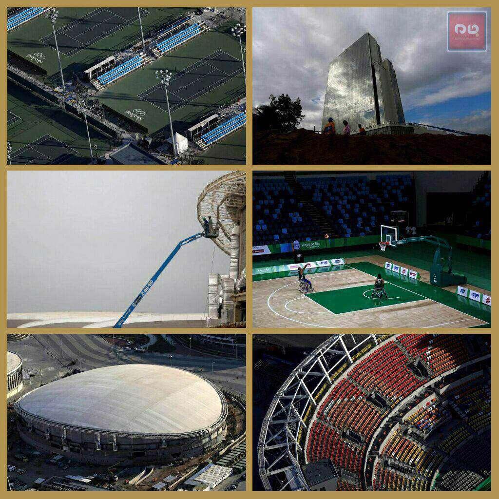 برزیل l آخرین وضعیت آمادهسازی قبل از آغاز بازی های المپیک