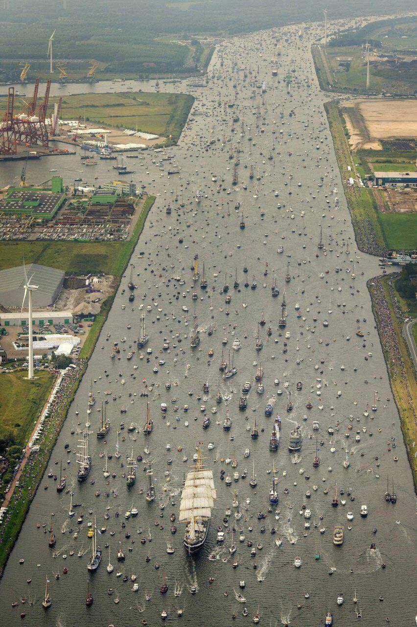 جشنواره کشتیرانی، آمستردام، هلند