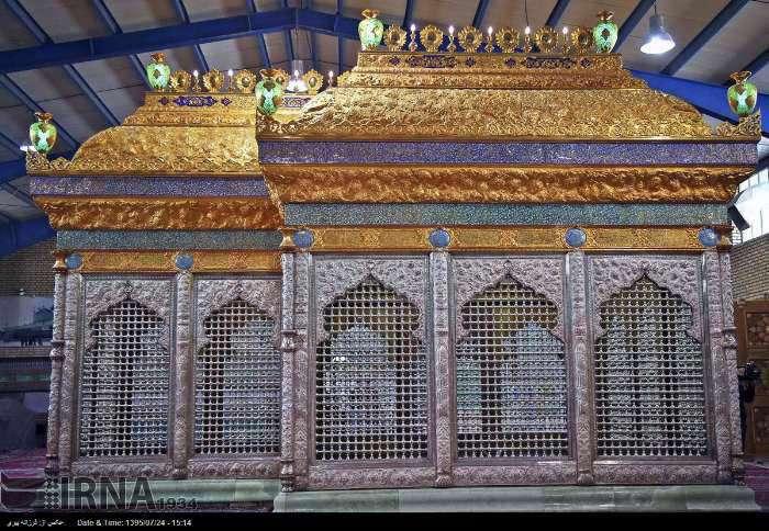 ساخت ضریح جدید امامین عسکریین(ع) در قم تکمیل شد