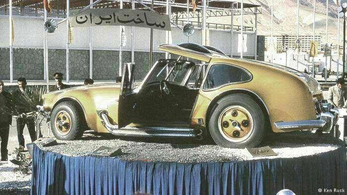 ماشینی که توسط مهندسین ایرانی در سال ۱۳۵۳طراحی و ساخته شد ولی تولید نشد