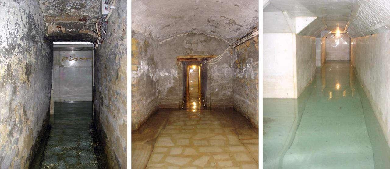 تصاویر قدیمی و جدید از ورودی سرداب حرم حضرت عباس(س)/ مزاری که از آن آب می جوشد