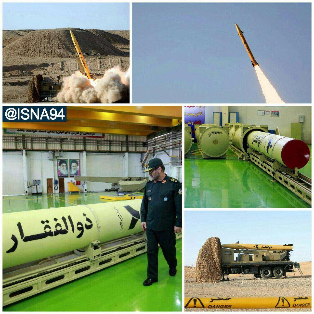 تصاویری از افتتاح خط توليد موشك ذوالفقار، نخستين موشك سوخت جامد نقطهزن با برد 700 کیلومتر