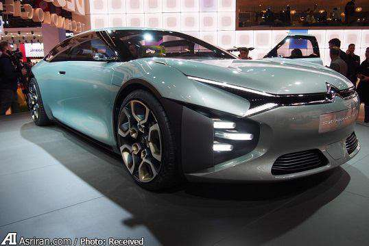 رونمایی از خودرو عجیب و مفهومی سیتروئن در نمایشگاه خودروی پاریس