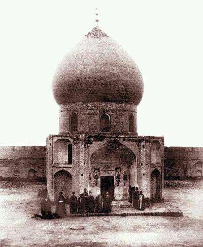 قدیمی ترین عکس موجود از حرم امام حسین در کربلا