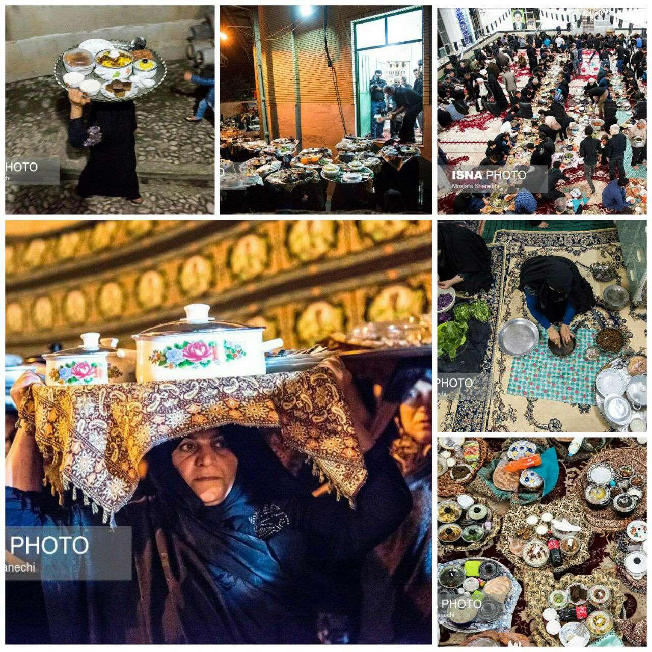 آیین غذا دادن به عزاداران امام حسین (ع)