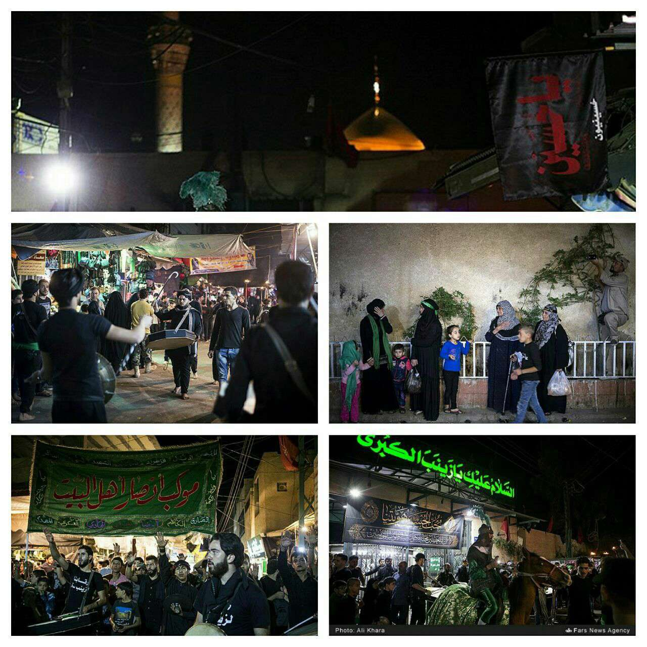 عزاداری در زینبیه دمشق