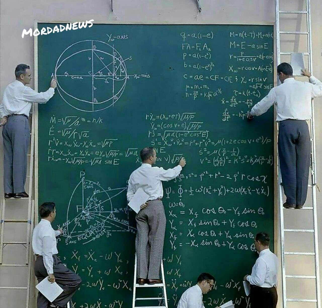 عکسی جالب از دانشمندان ناسا در سال 1961