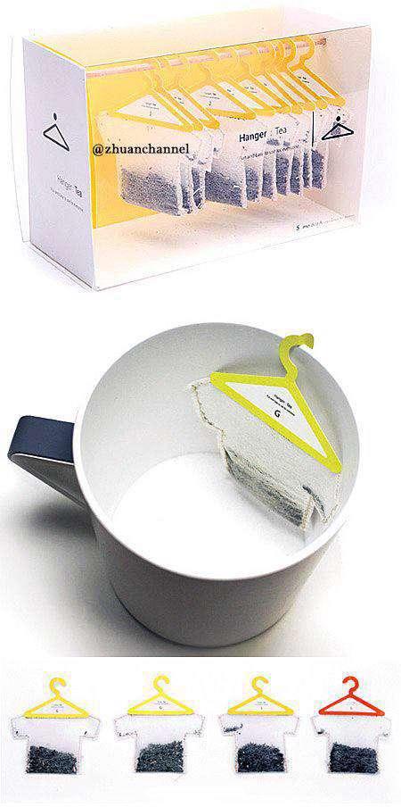 خلاقیت در بسته بندی چای