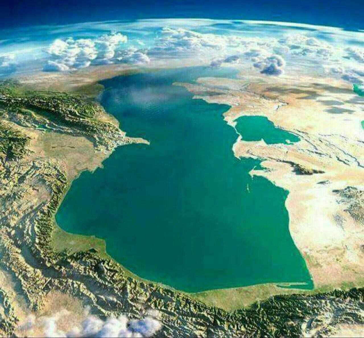 دریای خزر از نمایی دیگر