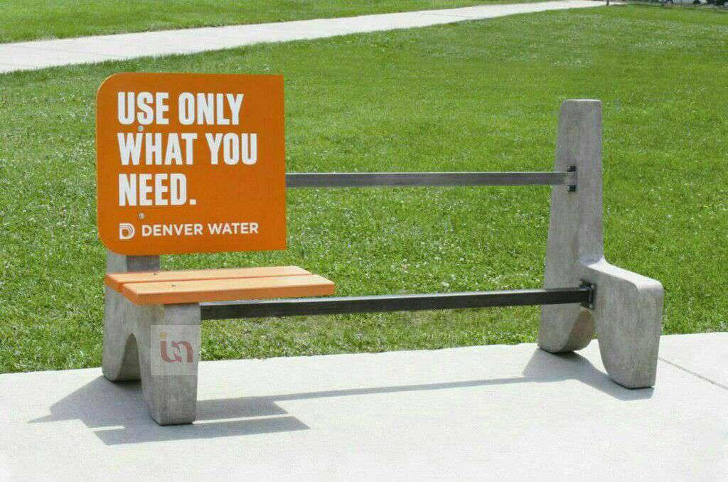 """تبلیغ جالب و خلاقانه برای صرفه جویی در مصرف آب: """"به اندازه نیاز مصرف کنید"""""""