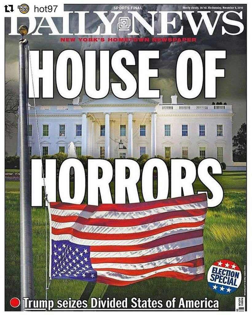 خانه وحشت: ترامپ قدرت را در آمریکای پرتفرقه به دست گرفت
