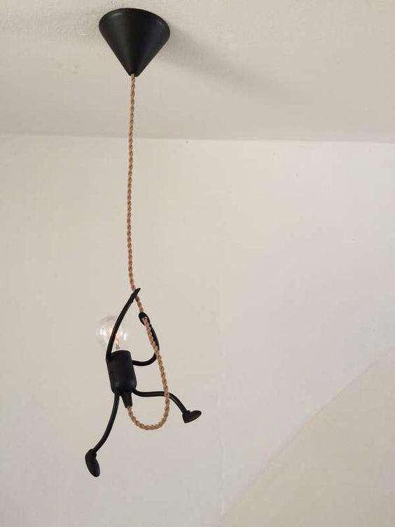 یک ایده خلاقانه برای لامپ