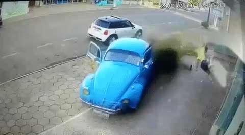 سرعت عمل در تصادف