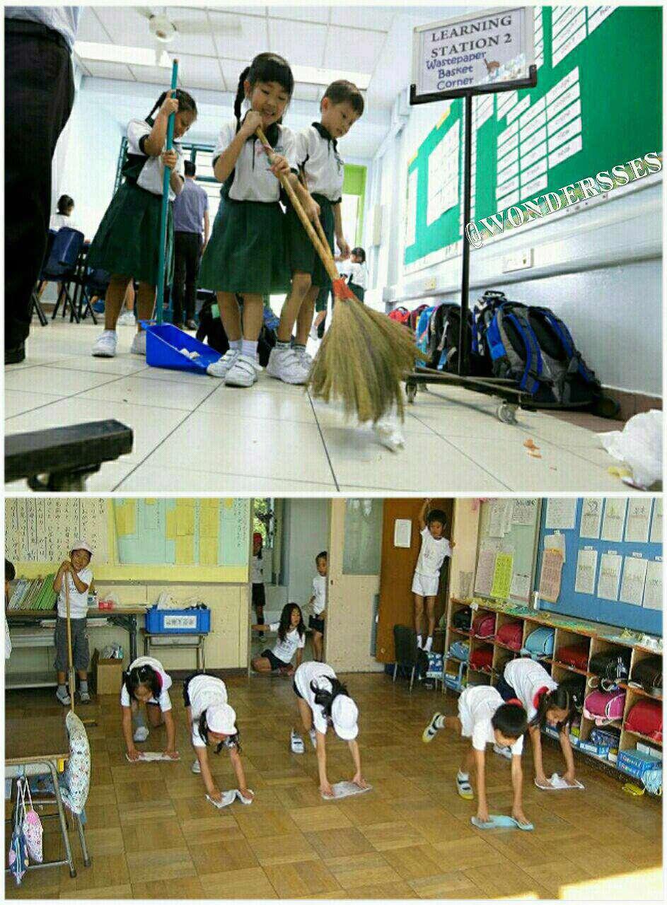 مدرسه های ژاپن سرایدار ندارند