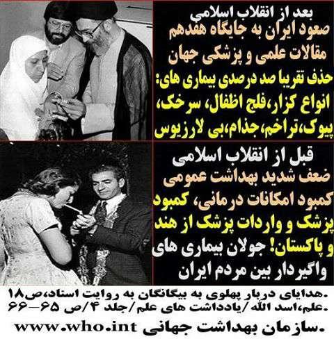 قبل و بعد از انقلاب اسلامی