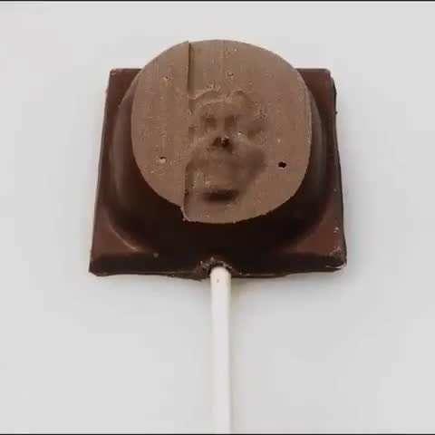 تراش شکلات به شکل چهره