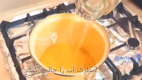 گرفتن ۲ لیتر آب پرتقال فقط از یک پرتقال