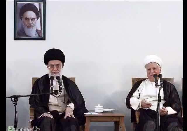 تصاويری از مرحوم آیتالله هاشمی رفسنجانی در کنار رهبرانقلاب