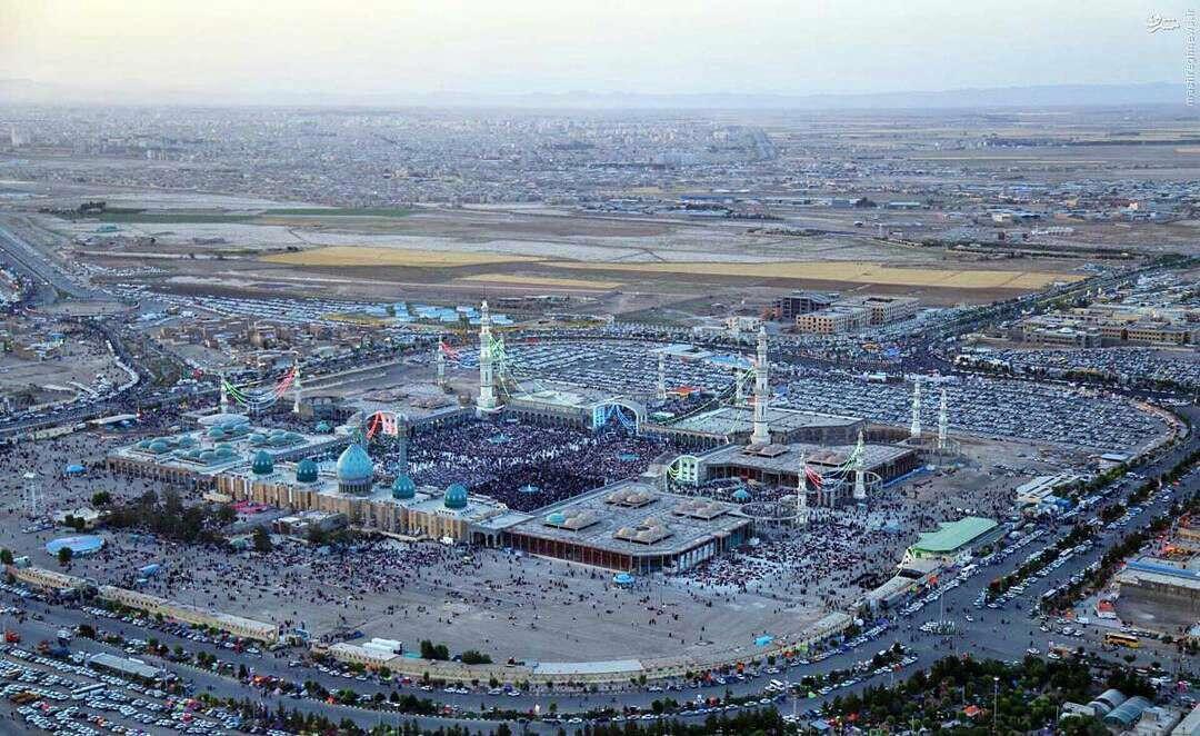 نمایی از مسجد مقدس جمکران