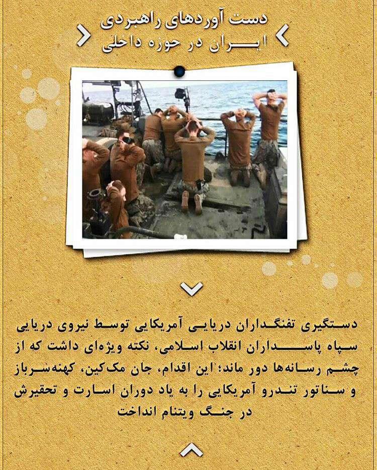 دست آ وردهای راهبردی ایران در حوزه داخلی