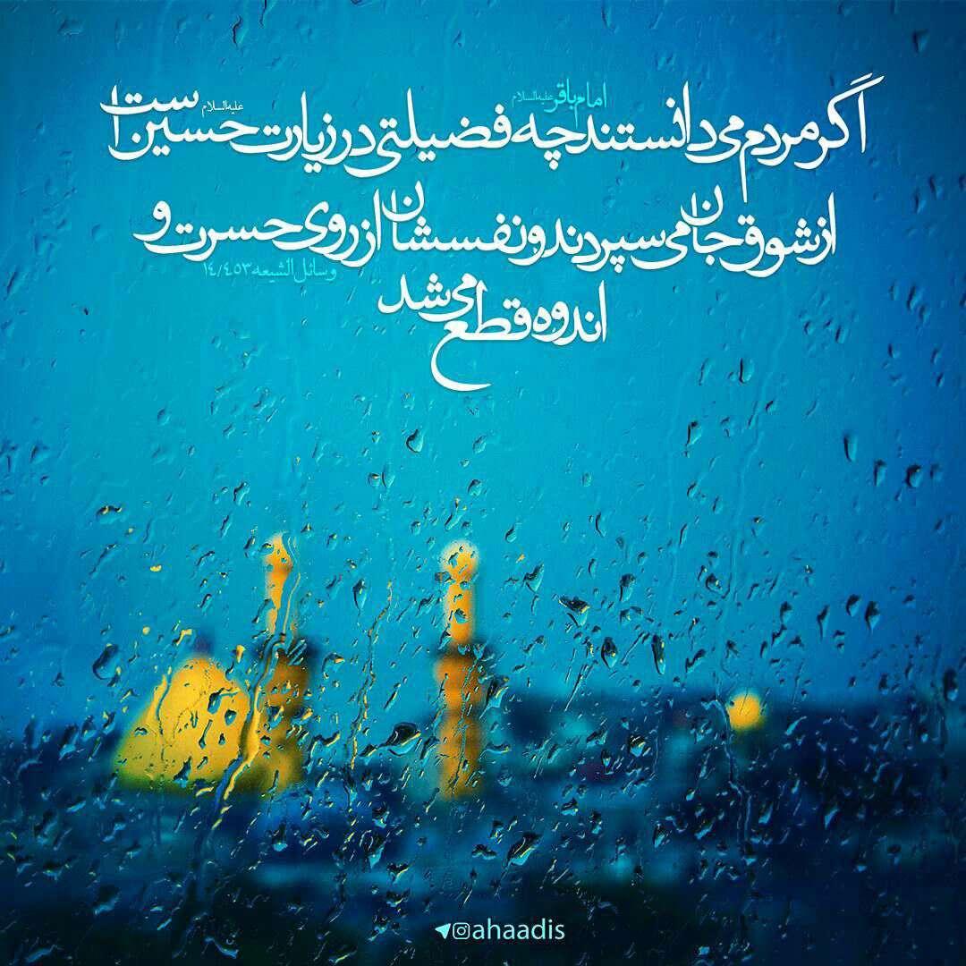 حدیثی از امام محمد باقر در مورد زیارت امام حسین