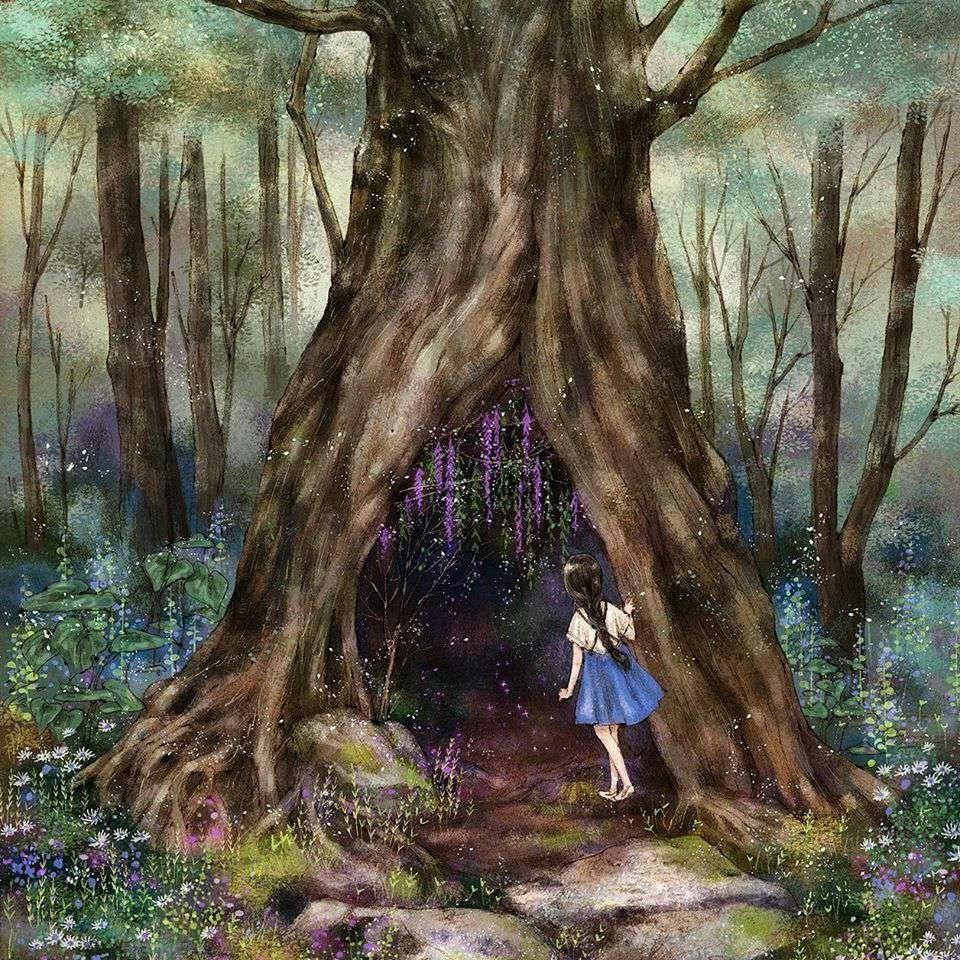 درخت اسرارآمیز