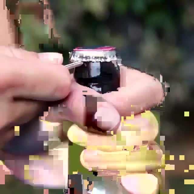 روشهای باز کردن در شیشه نوشابه