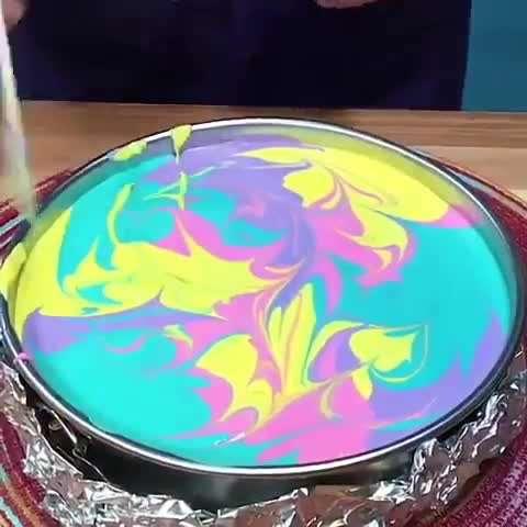 نحوه تزیین کیک