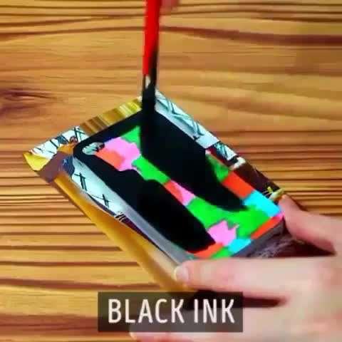ساخت قاب موبایل خلاقانه