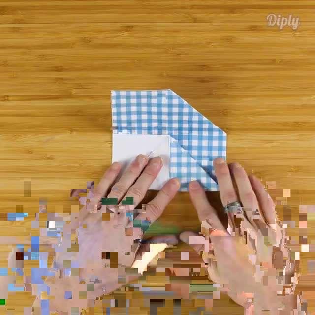 ساخت مکعب کاغذی بدون چسب