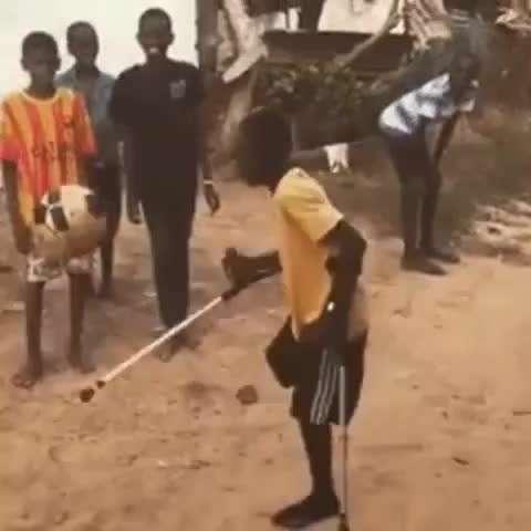 فوتبالیست معلول