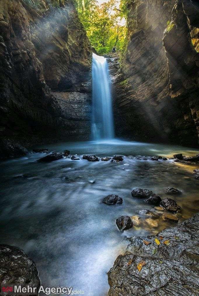 آبشار ویسادار گیلان،سومین آبشار مرتفع گیلان
