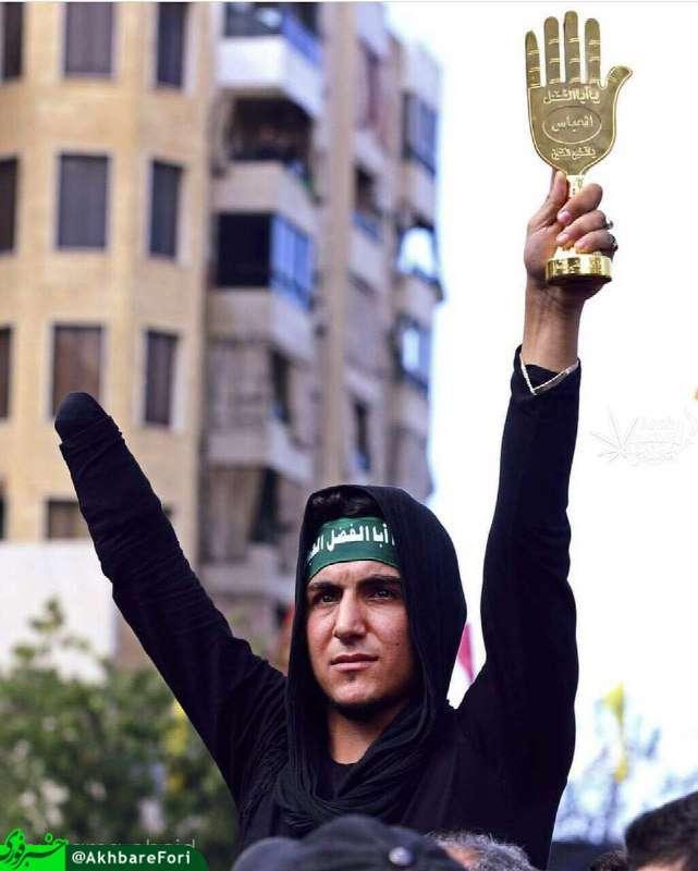 زیباترین تصویر مراسم روز عاشورا در بیروت؛ یاعباس...