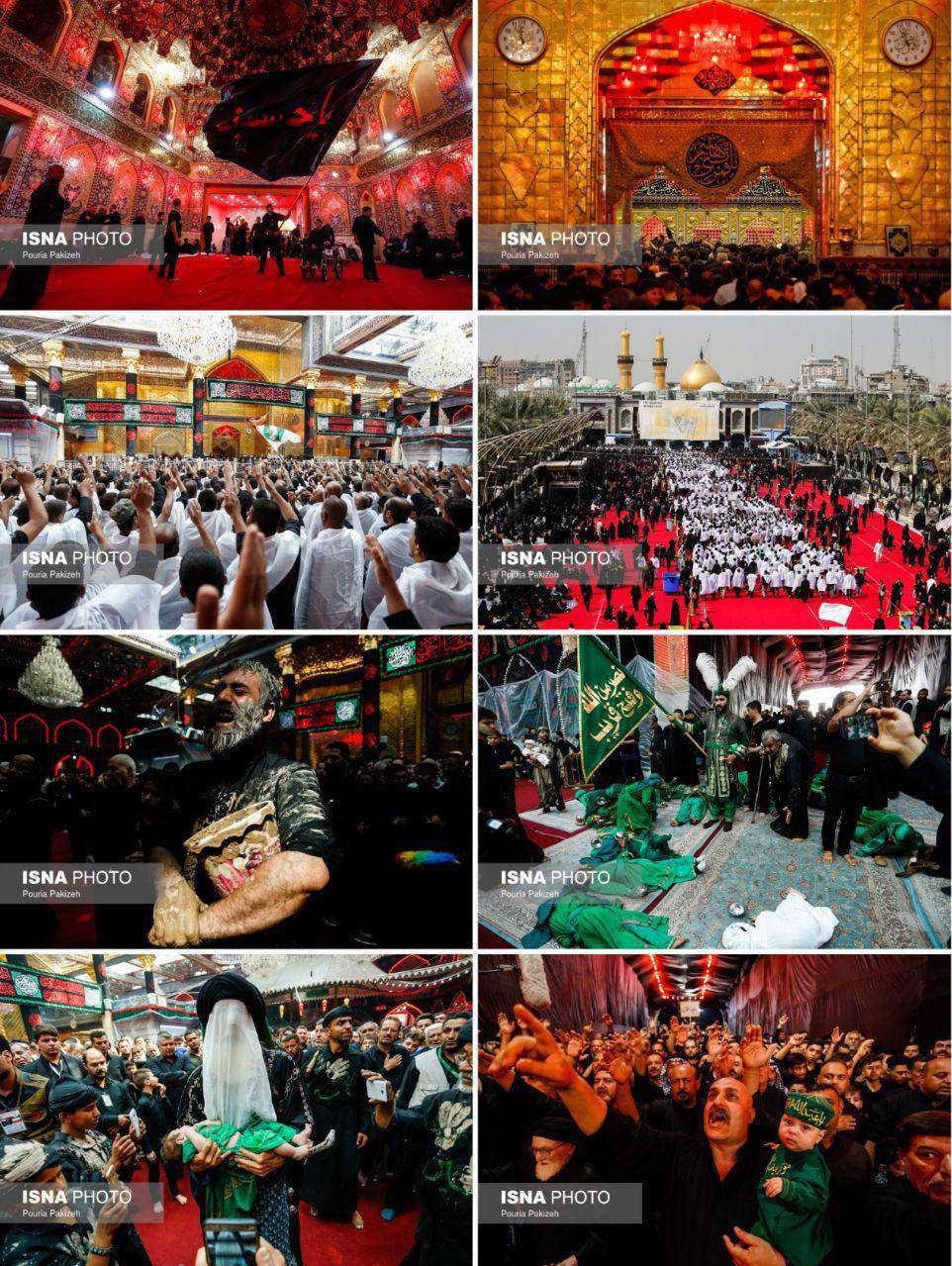 حرم حضرت ابوالفضل(ع) در روز تاسوعا