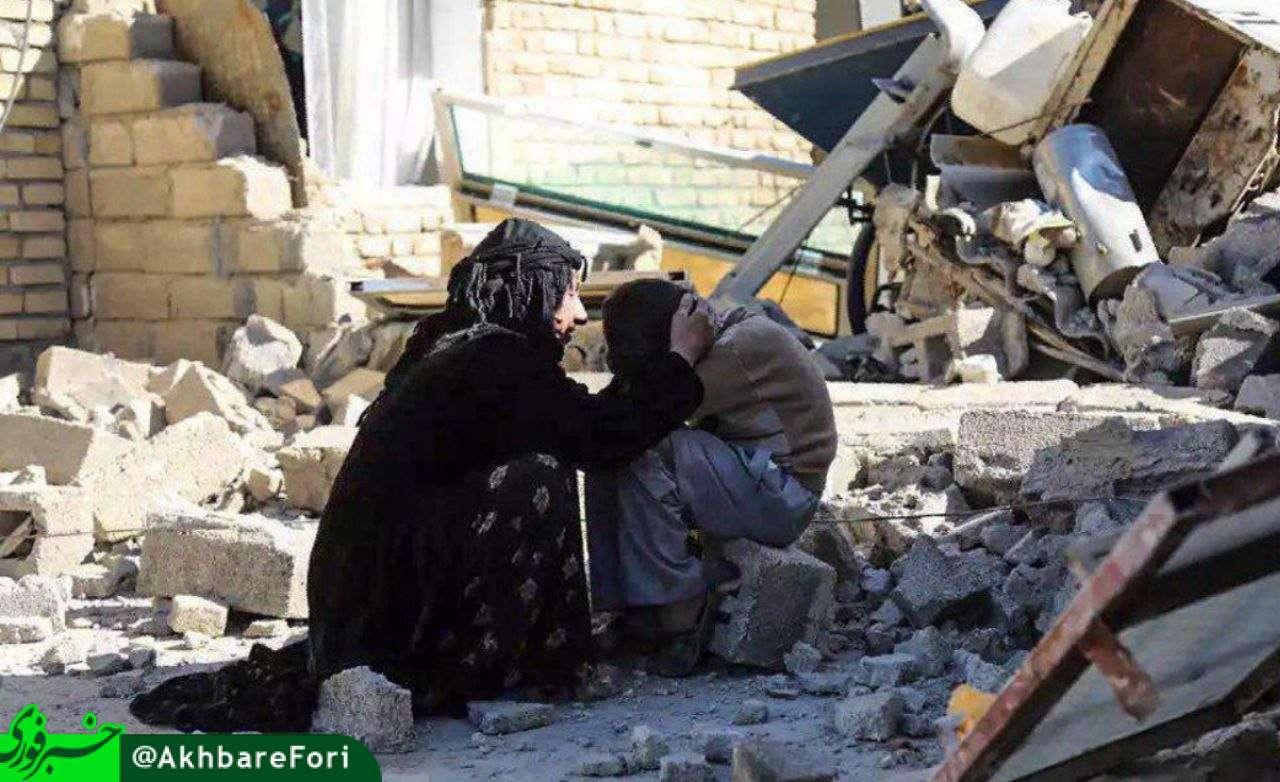 مهر مادری/ زلزله سرپل ذهاب