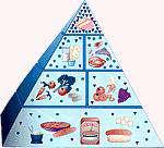 نكاتی در مورد هرم غذایی