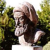 پرده برداري از مجسمه ناصر خسرو